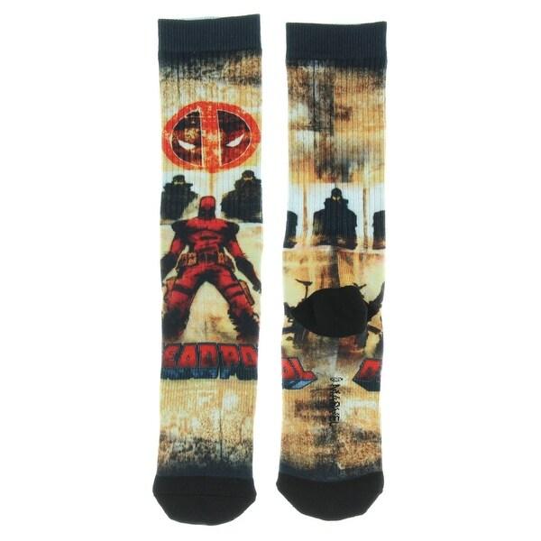Marvel Deadpool Sublimation Crew Socks