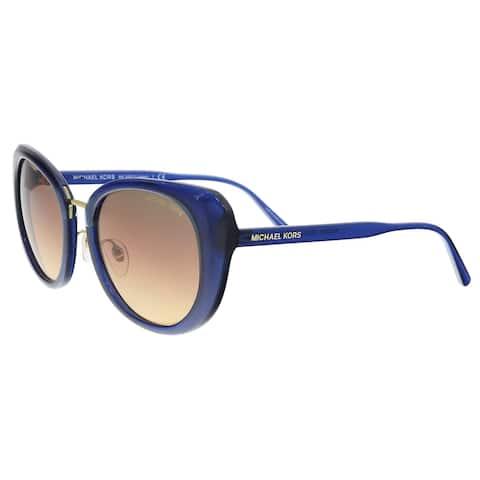 Michael Kors MK2062 3322H4 Milky Navy Cat eye Sunglasses - 52-20-140