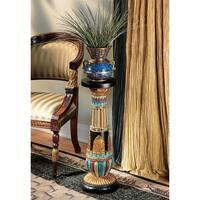 Design Toscano Regal Egyptian Luxor Sculptural Pedestal