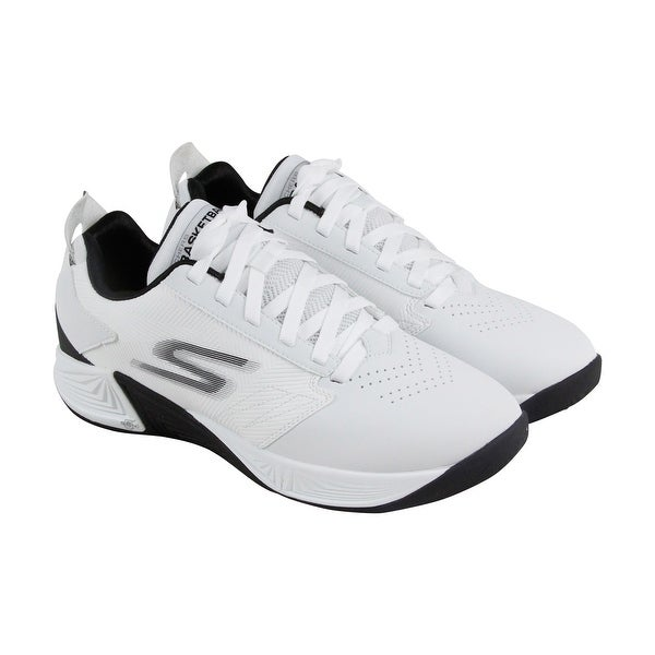 Skechers Gobasketball Torch 2 Mens White Synthetic Athletic Training Shoes