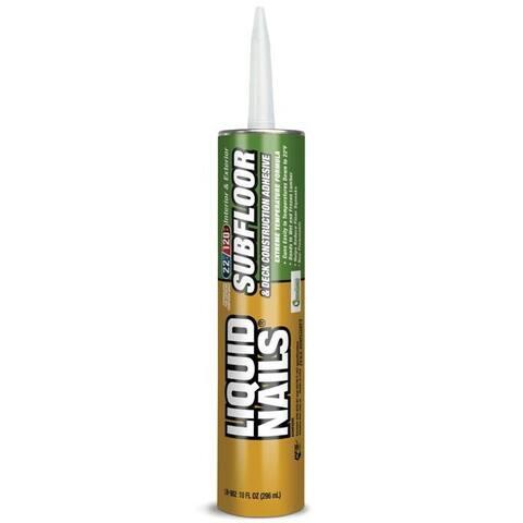 Liquid Nails LN-902 Heavy Duty Subfloor & Deck Construction Adhesive, 10 Oz