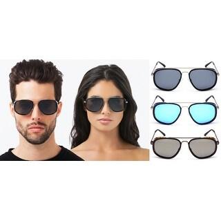 PRIVÉ REVAUX The Explorer Handcrafted Designer Rider Polarized Sunglasses For Men & Women