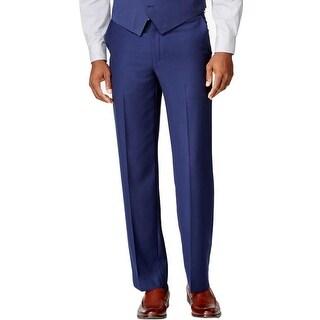 Sean John Mens Dress Pants Classic Fit Flat Front