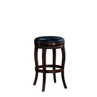 "American Heritage Billiards Alonza Bar Stool Alonza 30.5"" Tall Wood Frame Bar Stool"