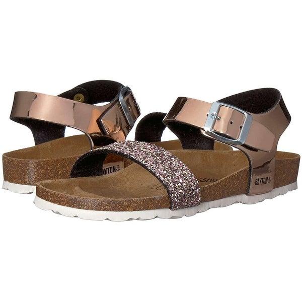 635271de285 Shop Kids Bayton Girls Tyche Buckle Ankle Strap Slide Sandals - Free ...