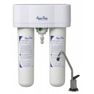 AquaPure AP-DWS1000 0.6 GPM Under Sink Water Filtration System - Faucet Included