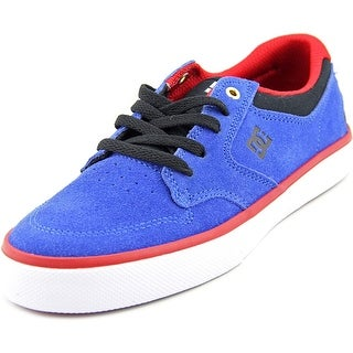 DC Shoes Argosy Vulc Round Toe Suede Skate Shoe