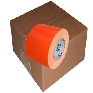 "Pro® Duct 139 Fluorescent Duct Tape 4"" x 60 yard 12 Roll Case (Option: fluorescent orange)"