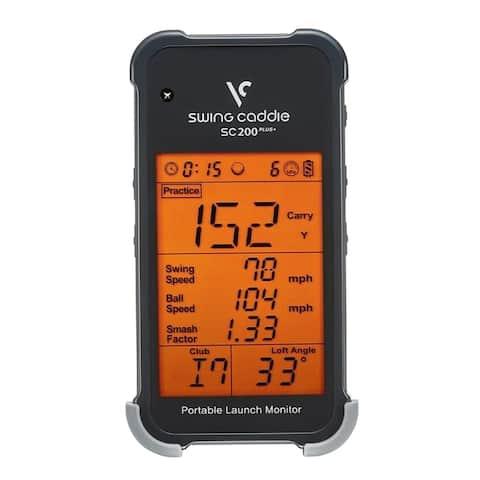 Swing Caddie SC200 Plus Portable Launch Monitor by Voice Caddie