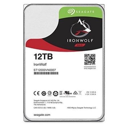 "Seagate St12000vn0007 12Tb Ironwolf 7200 Rpm Sata Iii 3.5"" Internal Nas Hdd"