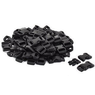 Outdoor Backpack Suitcase Accessories Plastic Mini Side Release Buckle 50pcs