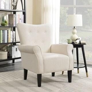 Shop Belleze Living Room Modern Wingback Armchair Accent