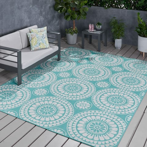Luxor Outdoor Area Rug by Christopher Knight Home