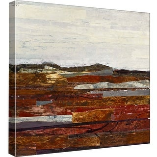 """PTM Images 9-97895  PTM Canvas Collection 12"""" x 12"""" - """"Linear Progression 6"""" Giclee Rural Art Print on Canvas"""