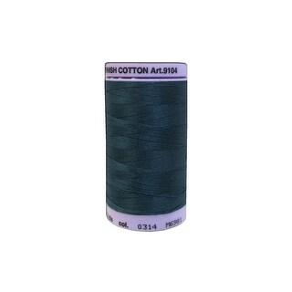 9104 0314 Mettler Silk Finish Cotton 50 547yd Spruce