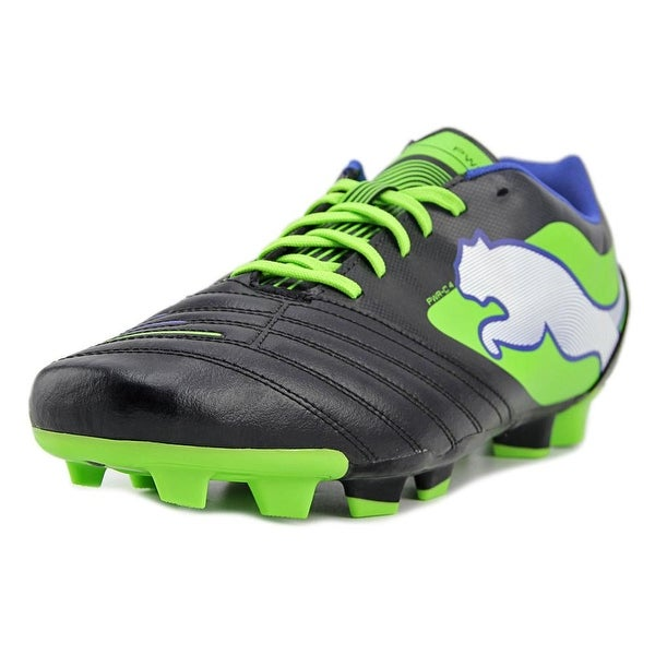Puma PowerCat 4 FG Women Round Toe Leather Cleats