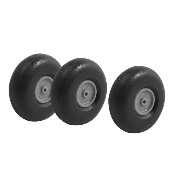 "Shop 3pcs RC Airplane DIY Assembly Spare Parts Rubber Tire Wheel 40mm 1.6"" - On Sale - Free Shipping On Orders Over $45 - Overstock.com - 21419264"