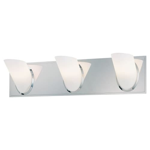 """Kovacs P5943 3 Light 21"""" Bathroom Vanity Light from the Angle Collection"""