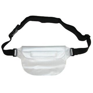 Smooth Trip Waterproof Waist Pack - CLEAR