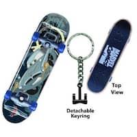 Disney Cars 2 Professor Z Skateboard Key Ring - Multi