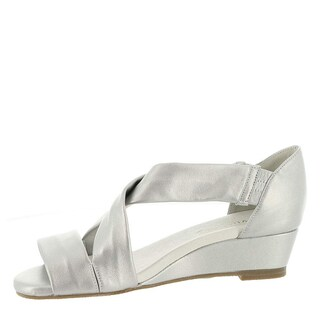 David Tate Womens SWELL Leather Open Toe Casual Strappy Sandals