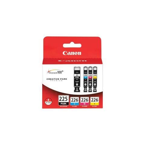 Canon PGI-225/CLI-226 4 Color Pack Ink INK CARTRIDGE KIT PGI225/CLI226 - Multicolor