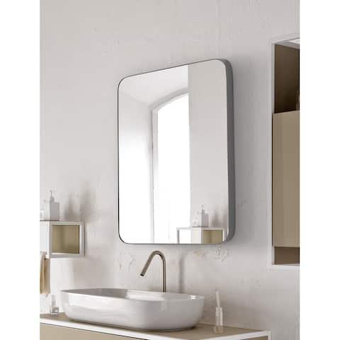 SUMMER STAR Gray Flat Wall Mirror - 22x30