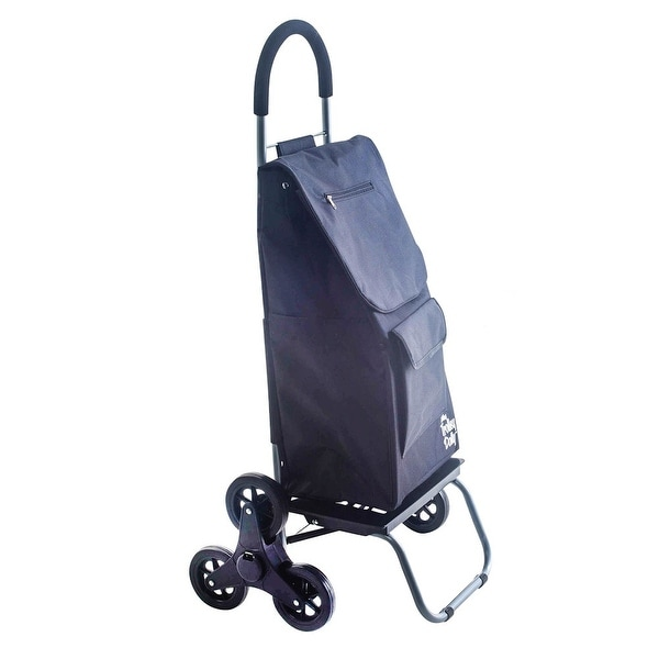 ba8f708591f2 Shop Stair-Climbing Trolley Dolly Bag - Rolling Foldable Cart - Free ...