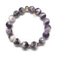 "Purple Amethyst Sophia 7"" Bracelet - Thumbnail 1"
