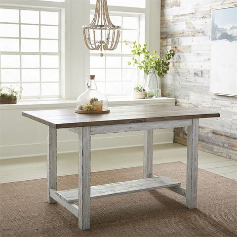 Color Nook Whitestone Rectangular Gathering Table