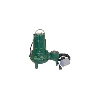 Zoeller 270-0005 1HP Sewage Pump With Variable Level Float Switch - n/a - N/A