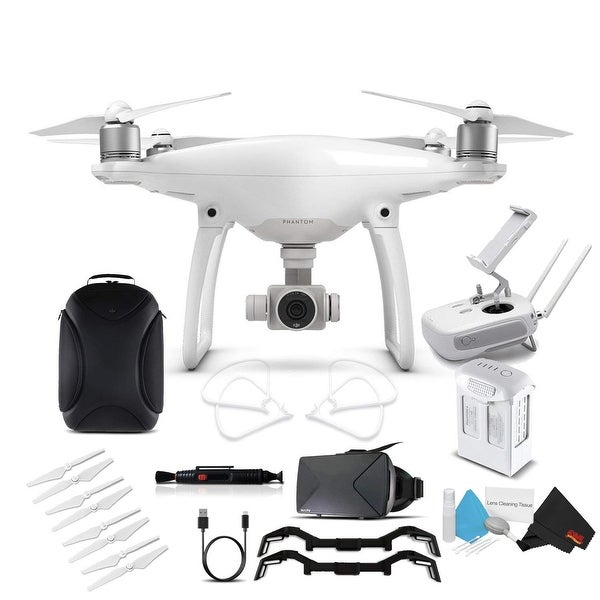 Shop DJI Phantom 4 Advanced (CP PT 000689) With BackPack and VR