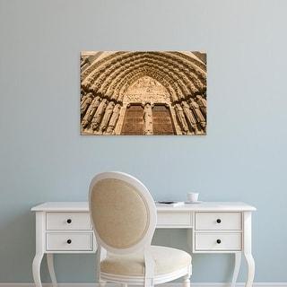 Easy Art Prints Sergio Pitamitz's 'Notre Dame Cathedral' Premium Canvas Art