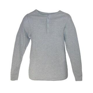 Hanes Men's Big and Tall Thermal Henley Shirt