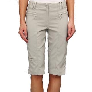 DKNY Golf NEW Gray Vesuvius Women's Size 0 Athletic Golf Shorts
