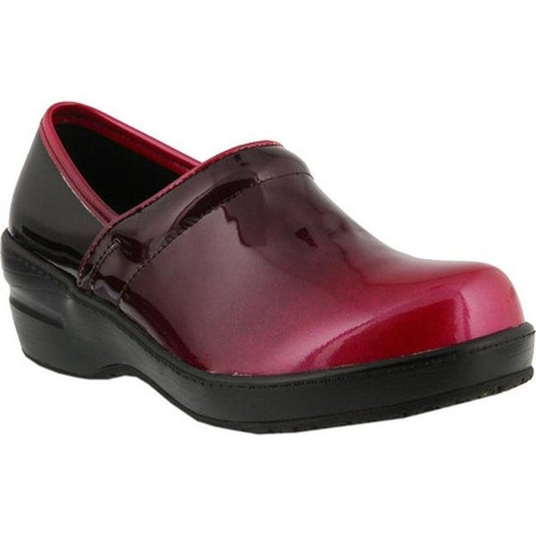2e3daedf0db Shop Spring Step Women s Neppie Clog Fuchsia Ombre Synthetic Patent ...