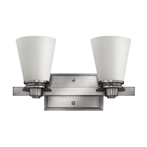 Hinkley Lighting 5552 2 Light Bathroom Vanity Light from the Avon Collection