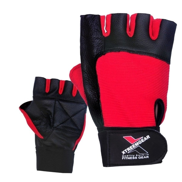 Weight Lifting Gloves Leather Fitness Gym Training Workout: Shop Weight Lifting Gloves Leather Fitness Training Gym