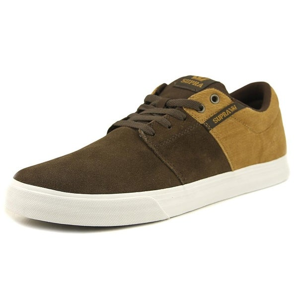 Supra Stacks Vulc II Men Demitasse/Tan Skateboarding Shoes
