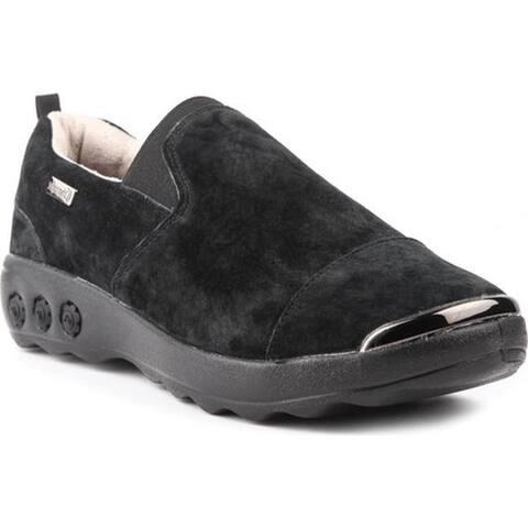 Therafit Women's Samantha Slip-On Shoe Black Suede