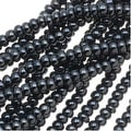 Czech Seed Beads 11/0 Hematite Grey Metallic (1 Hank) - Thumbnail 0
