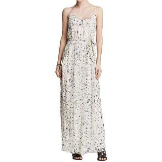 Joie Womens Casual Dress Silk Floral Print