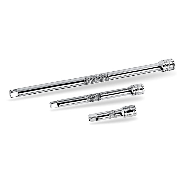 "Powerbuilt 3 Piece 1/2"" Drive Extension Bar Set Chrome Vanadium - 640846"