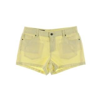 Armani Exchange Womens Denim Shorts Colored Distressed
