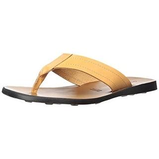Gordon Rush Mens Preston Flip-Flops Leather Casual - 44 medium (d)