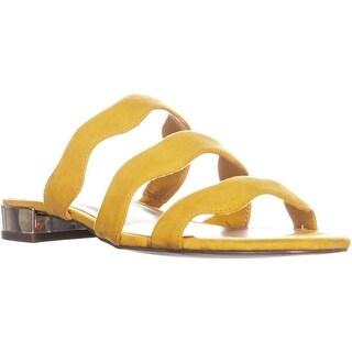 BCBG Generation Dania Flat Sandals, Marigold - 8 us / 38 eu