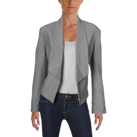 Nine West Womens Open-Front Blazer Flyaway Work Wear