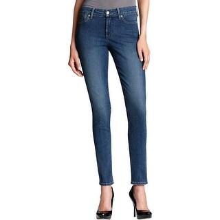 NYDJ Womens Denim Leggings STRETCH Mid-Rise