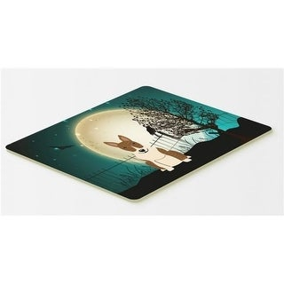 Carolines Treasures BB2327CMT Halloween Scary Bull Terrier Brindle Kitchen or Bath Mat 20 x 30