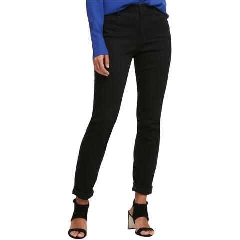 DKNY Womens Soho Skinny Fit Jeans, Black, 27